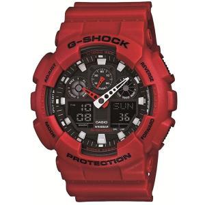 カシオ CASIO 正規品 時計 腕時計 G-SHOCK Gショック メンズ ブランド GA-100B-4AJF GA-100 SERIES|fashion-labo