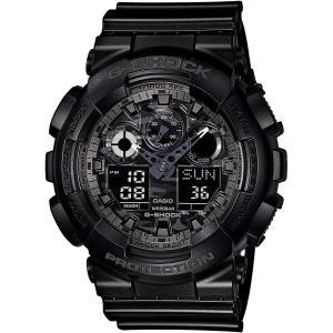 カシオ CASIO 正規品 時計 腕時計 G-SHOCK Gショック メンズ ブランド GA-100CF-1AJF GA-100 SERIES|fashion-labo