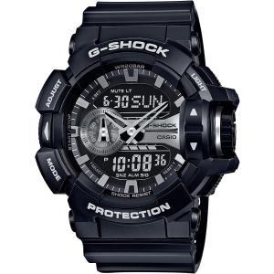 カシオ CASIO 正規品 時計 腕時計 G-SHOCK Gショック メンズ ブランド GA-400GB-1AJF GA-400 SERIES|fashion-labo