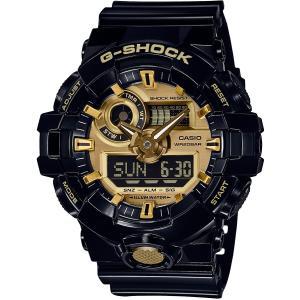 カシオ CASIO 正規品 時計 腕時計 G-SHOCK Gショック メンズ ブランド GA-710GB-1AJF GA-700 SERIES|fashion-labo