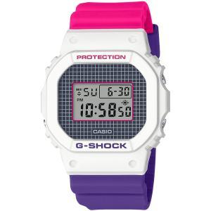 カシオ CASIO 正規品 時計 腕時計 G-SHOCK Gショック メンズ ブランド DW-5600THB-7JF Throwback 1990s|fashion-labo
