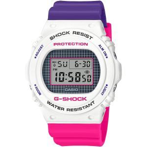 カシオ CASIO 正規品 時計 腕時計 G-SHOCK Gショック メンズ ブランド DW-5700THB-7JF Throwback 1990s|fashion-labo