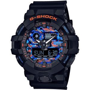 カシオ CASIO 正規品 時計 腕時計 G-SHOCK Gショック メンズ ブランド GA-700CT-1AJF City Camouflage Series|fashion-labo
