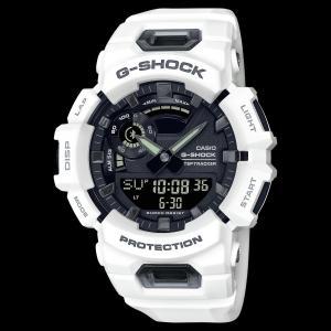 カシオ CASIO 正規品 時計 腕時計 G-SHOCK Gショック メンズ ブルートゥース ホワイト ブラック GBA-900-7AJF ANALOG-DIGITALGBA-900 SERIES|fashion-labo