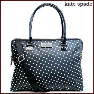 ケイトスペード バッグ トートバッグ レディース 2Way ショルダーバッグ ブラック ドット ブランド アウトレット A4 kate spade fashion-labo