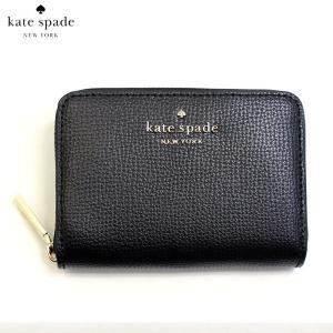 ケイトスペード KATE SPADE コインケース 小銭入れ カードケース ダーシー wlr00548-001 レディース レザー 本革 ブラック 黒色 ゴールド ブランド fashion-labo