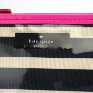 ケイトスペード kate spade コスメポーチ 化粧ポーチ 小物入れ ストライプ ボーダー 2294|fashion-labo|05