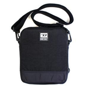 ディーゼル DIESEL バッグ ショルダーバッグ メンズ 斜め掛け BULERO ALTAIRO ブラック コンパクト ブランド X07506 fashion-labo