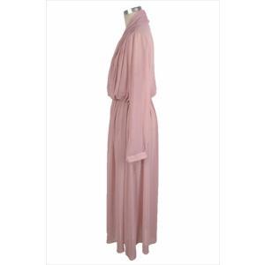 パーティードレス レディース シフォン ブラック ピンク ワンピース ワンピ 結婚式 パーティ 成人式 社交 お呼ばれ 花嫁 二次会 ドレス フォーマル カラードレス|fashion-shop-rinka|19