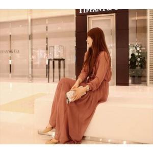 パーティードレス レディース シフォン ブラック ピンク ワンピース ワンピ 結婚式 パーティ 成人式 社交 お呼ばれ 花嫁 二次会 ドレス フォーマル カラードレス|fashion-shop-rinka|07