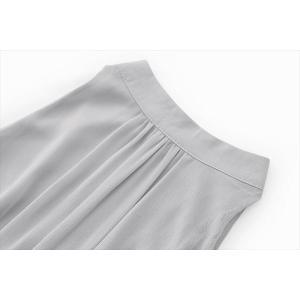 パーティードレス レディース グレー シンプル シフォン ワンピース ワンピ 結婚式 パーティ 成人式 社交 お呼ばれ 花嫁 二次会 ドレス フォーマル カラードレス|fashion-shop-rinka|13