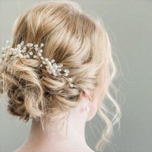 ヘッドドレス 髪飾り ヘアアクセサリー パール 花 レディース ヘッドアクセサリー  和装 着物 ウェディング 髪留め 振袖 結婚式 フォーマル ブライダル お呼ばれ|fashion-shop-rinka|02