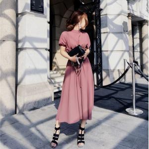 パーティードレス 10代 20代 30代40代 ワンピース おしゃれ フォーマル お呼ばれ パフスリーブ キャバ 秋冬 カラードレス 結婚式 成人式 セクシー レディース|fashion-shop-seleb|08