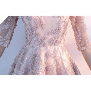 パーティードレス 10代 20代 30代40代 ワンピース おしゃれ フォーマル お呼ばれ フィッシュテール カラードレス 結婚式 成人式 セクシー レディース キャバ|fashion-shop-seleb|11