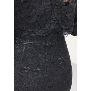 パーティードレス 10代 20代 30代40代 ワンピース おしゃれ フォーマル ブラック 上下セット カラードレス 結婚式 成人式 セクシー レディース キャバ 春夏 fashion-shop-seleb 15