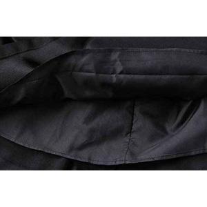 パーティードレス 10代 20代 30代 ワンピース おしゃれ フォーマル お呼ばれ エンボス ボートネック ブラック  ワンピ ミディアム 長袖 ロング カラードレス|fashion-shop-seleb|05