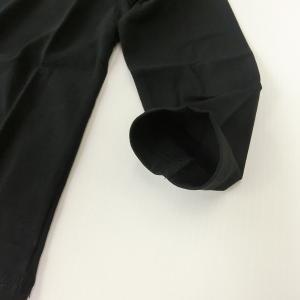 子供 こども 無地 長袖Tシャツ 白 黒 100cm〜160cm No.517220【1点までゆうパケット可能】 サンキ/sanki fashionichiba-sanki 05