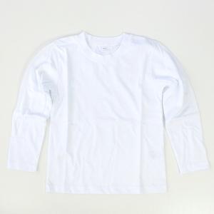 子供 こども 無地 長袖Tシャツ 白 黒 100cm〜160cm No.517220【1点までゆうパケット可能】 サンキ/sanki fashionichiba-sanki 08