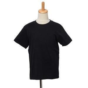 在庫限り 子供/こども 無地 半袖Tシャツ 黒 綿100% 下着 パジャマ 運動会 スポーツ【2点までゆうパケット可能】 サンキ/sanki|fashionichiba-sanki