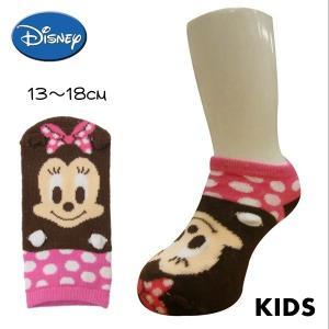 Disney/ディズニー キャラクタークルーソックス ミニーマウス 子供用 13〜18cm 【6点までゆうパケット可能】sanki/サンキ|fashionichiba-sanki