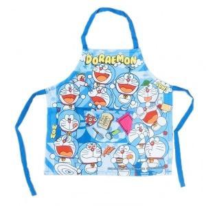 子供 エプロン ドラえもん キャラクター こども 保育園 幼稚園 100cm No.02820-28【1点までゆうパケット可能】|fashionichiba-sanki