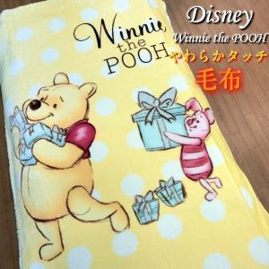 ディズニー 毛布 くまの プーさん シングルサイズ Disney キャラクター 寝具 やわらかタッチ 約140×200cm|fashionichiba-sanki
