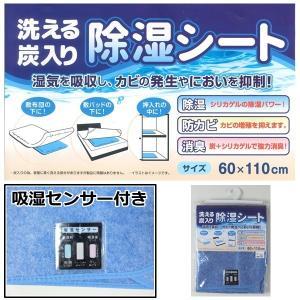 【こちらはゆうパケット対象外 ゆうパックのみでの配送となります】  洗える炭入り 除湿シート サイズ...