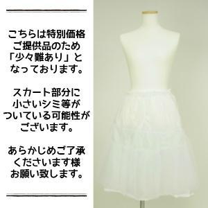 フラスカート用 パニエ ウエストフリー(50cm〜100cm) 白 レギュラーサイズ 【ゆうパケット不可】 サンキ/sanki|fashionichiba-sanki|02
