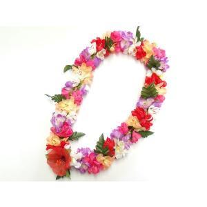 フラダンス レイ/首飾り ハワイアン シェルジンジャー ミックス L-25 12680 【ゆうパケット不可】 サンキ/sanki|fashionichiba-sanki