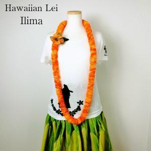 フラダンス レイ 首飾り ハワイアン イリマ L-11 15015 Ilima ALOHA HAWAII LEI アロハ ハワイ レイ【ゆうパケット不可】 サンキ/sanki|fashionichiba-sanki