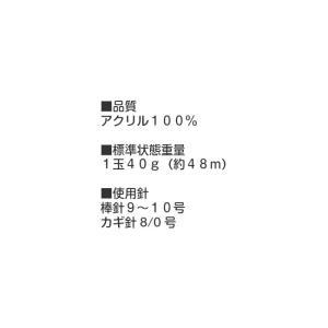 毛糸 アクリル毛糸 楽しいホビー 極太 【ゆうパケット不可】 サンキ/sanki|fashionichiba-sanki|06