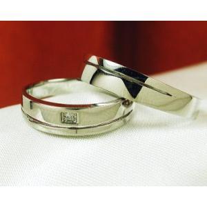 K18ブラックゴールド ダイヤモンド ペアリング レディースタイプ|fashionjewelry-em