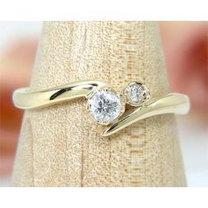 4月の誕生石 K10YG ダイヤモンド リング|fashionjewelry-em