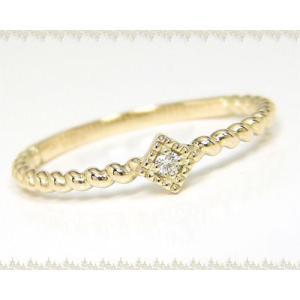 K10YG/PG/WG ダイヤモンド ファッションリング|fashionjewelry-em