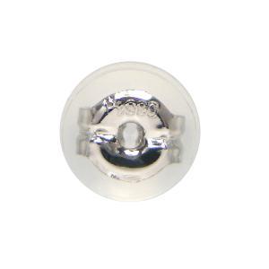 シリコン付ダブルロックキャッチ 1個「片側」・Lサイズ「大」 Pt900[プラチナ]タイプ|fashionjewelry-em