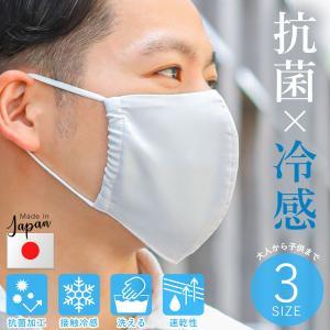 夏用 マスク 清潔抗菌 × 接触冷感 ひんやりクール生地 夏 涼しい 高機能マスク 日本製 洗える ...