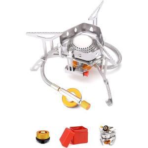 セール2980→2350 シングルバーナー CB缶/OD缶対応 キャンプバーナー 圧電点火 キャンプ...