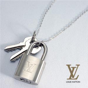 【非売品・SALE!!】[LOUIS VUITTON]ルイ・ヴィトン パドロック カデナ 南京錠 ネックレス (シルバーマーク)|fashionplate-fsp