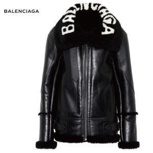 BALENCIAGA バレンシアガ Bombardier shearling jacket ボンバルディエ ブラック ジャケット アウター 2018-2019年秋冬|fashionplate-fsp