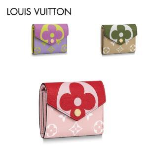LOUIS VUITTON ルイ・ヴィトン ポルトフォイユ・ゾエ M67670 レッド パープル カーキ|fashionplate-fsp