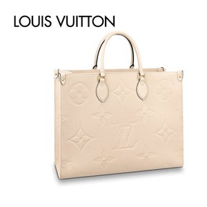 Louis Vuitton On The Go GM Cream Square Tote Bag  ルイ・ヴィトン オンザゴー  クリーム スクエア トートバッグ|fashionplate-fsp