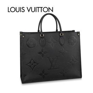 LOUIS VUITTON ルイ・ヴィトン スクエアトートバッグ オンザゴー GM Noir Black ブラック|fashionplate-fsp