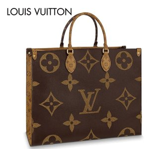 Louis Vuitton On The Go GM Brown Square Tote Bag  ルイ・ヴィトン オンザゴー  ブラウン スクエア トートバッグ|fashionplate-fsp