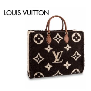 Louis Vuitton On The Go Square Tote Bag Monogram Teddy  ルイ・ヴィトン オンザゴー スクエア トートバッグ モノグラム ジャイアント|fashionplate-fsp