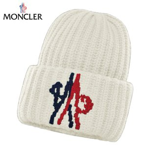 MONCLER モンクレール 2 MONCLER 1952 + VALEXTRA キャップ 帽子 ニット ホワイト fashionplate-fsp