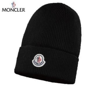 MONCLER モンクレール BONNET 帽子 ニット ブラック 2019-2020年秋冬 fashionplate-fsp