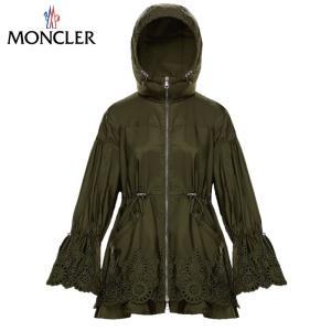 MONCLER モンクレール BRAZZAVILLE ジャケット ポリエステル レディース Vert militaire ミリタリーグリーン 2019-2020年秋冬新作|fashionplate-fsp