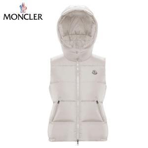 MONCLER モンクレール GALLINULE gilet ダウンベスト レディース アイボリー 2019-2020年秋冬新作|fashionplate-fsp