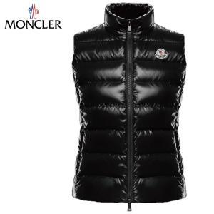 MONCLER GHANY gilet Down Vest Ladys Noir Black 2019AWモンクレール ガーニー ダウンベスト レディース ブラック 2019-2020年秋冬新作|fashionplate-fsp