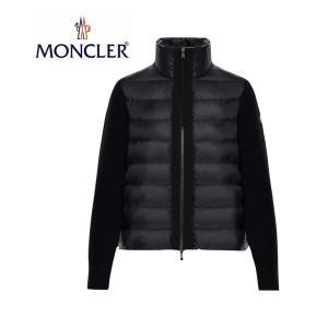 MONCLER モンクレール ZIPPER TRICOT CARDIGAN ジッパー トリコット カーディガン Ladys レディース Black ブラック 2019-2020年秋冬新作|fashionplate-fsp